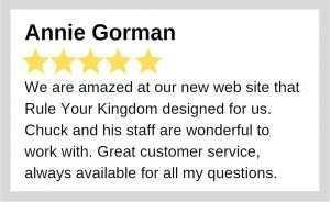 Annie Gorman review - Rule Your Kingdom
