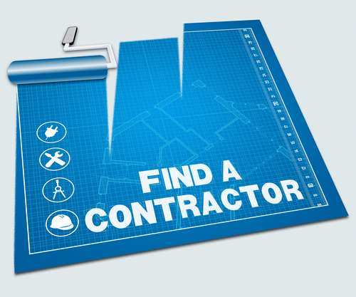 Finding a contractor online